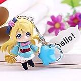 Anime Love Live Cute Kawaii Portachiavi in PVC Figure Portachiavi da Collezione Model Toy, 03