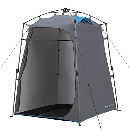 Qeedo Quick Shower Cabin Camping Shower Tent & Changing Room Tent (Quick Up System)