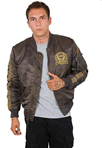 Alpha Industries MA-1 60 Anniversary camouflage bomber jas