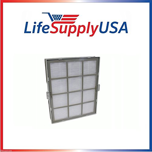 LifeSupplyUSA Replacement Small HEPA Filter Compatible with Winix 119010 Size 17 PlasmaWave Air Cleaner Models P150, U150, 9300, 9000S and 5000S