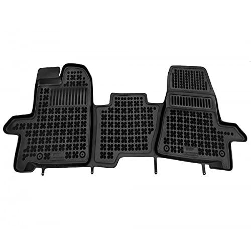 123TAPISAUTO Tapis de Sol Premium 3D Ford Transit Custom Depuis 2013 3-Places