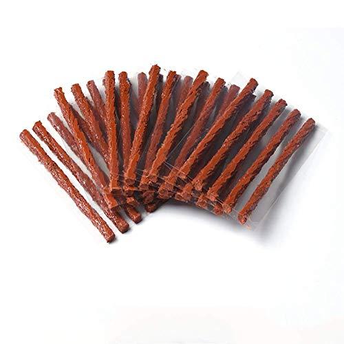Meipro reifenraparatur Saiten Gummi Streifen, Reifen Reparatur Stecker selbst Vulcanizing Tire Repair Tool Kit für Autos (50pcs)