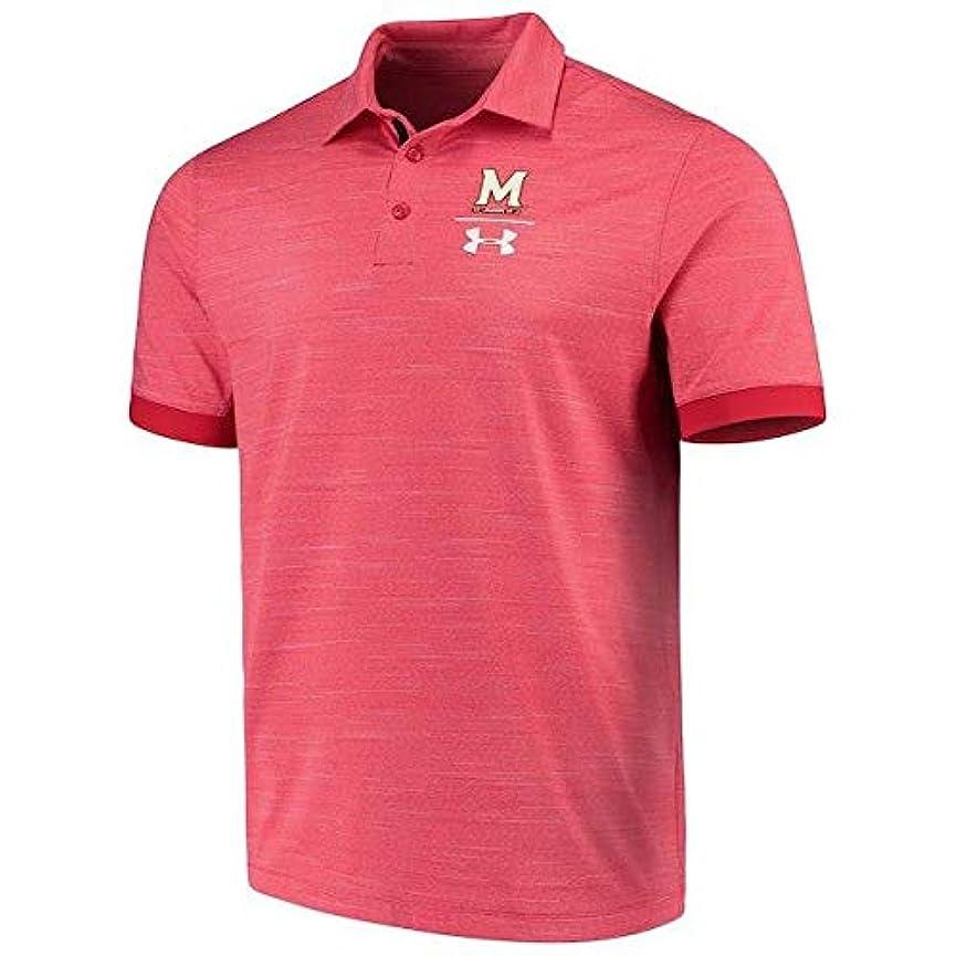 に応じて責思われるUnder Armour Under Armour Maryland Terrapins Red NCAA Playoff Vented Polo スポーツ用品 【並行輸入品】