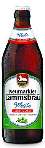 Neumarkter Lammsbräu Weiße Alkoholfrei, 0.5 l (MEHRWEG inkl. EUR 0.08 Pfand)
