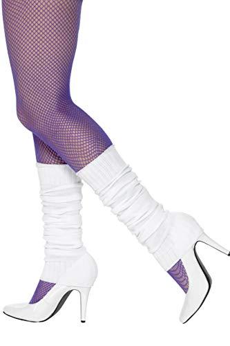 Smiffys Damen Stulpen, One Size, Weiß, 45644