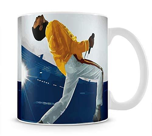 Freddie Mercury at Wembley Stadium - Taza