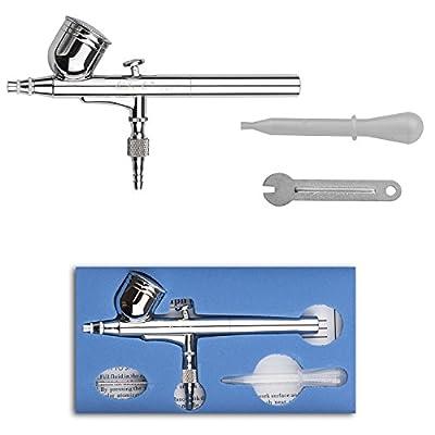 LIPPO Portable Airbrush Set Convenient Cake Crafts Decorating Painting Airbrush Gun for Artwork Design Paint Air Spray Gun