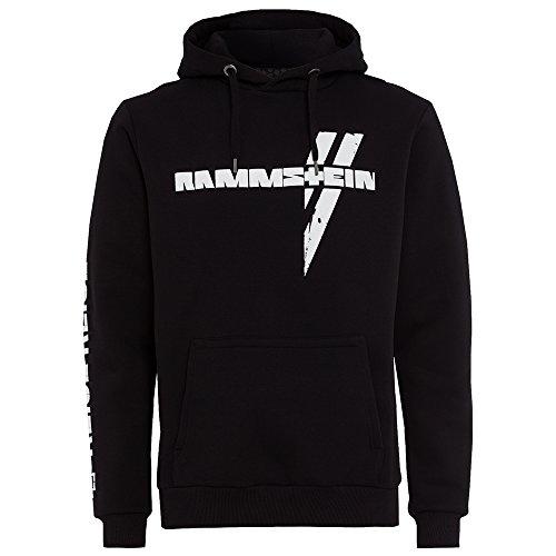 Rammstein, Kapuzenpullover Weißes Kreuz (XXL)
