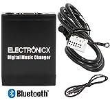 Electronicx Adaptador de Radio para Coche Bluetooth Manos Libres USB SD AUX MP3 CD para VW, Audi, Skoda y Seat Beat Cruise Dance Melody CC