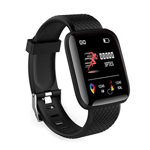 Pulsera de actividad con Bluetooth IP67, reloj inteligente para monitorizar la frecuencia cardíaca y el sueño, reloj deportivo para hombres y mujeres, cumpleaños, Navidad o aniversario