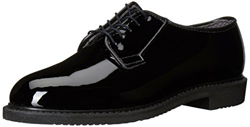 Bates Men's Lites High Gloss Oxford, Black, 13 D US