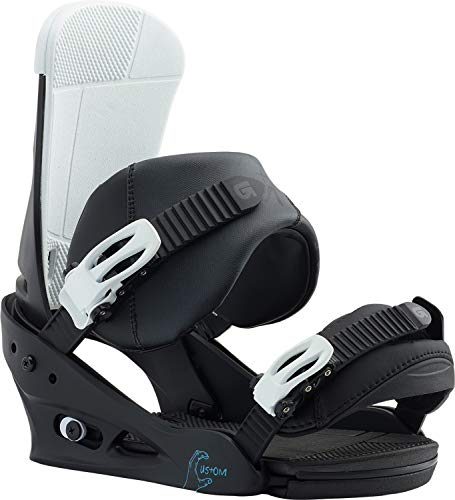Burton Custom Snowboard Bindings Black/Multi Sz L (10+)