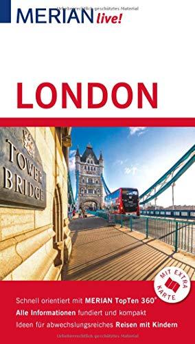 MERIAN live! Reiseführer London: Mit Extra-Karte zum Herausnehmen