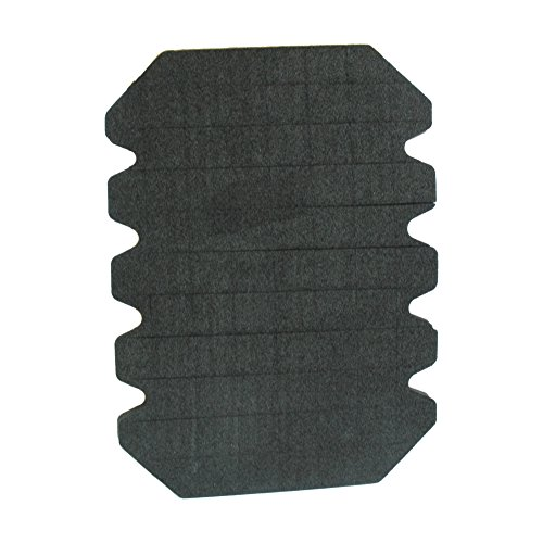 Kniepolster schwarz, für Arbeitshosen/Stück