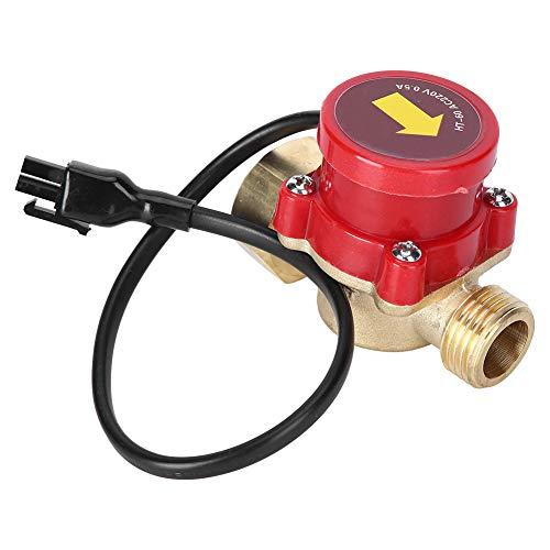 Steuerschalter Durchflussschalter Inline Niedrigwasserdruck 220V 60W Wärmebeständigkeit Automatische Steuerung Wasserpumpen-Durchflusssensor für Erdölsystem für Chemikalien