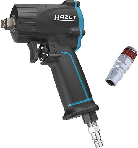 Hazet 9012M 1100 N m Impact Wrench Extra Short - Black/Blue