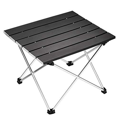 OHHCO Silla de camping portátil, plegable, de aluminio, para camping, mesa de escritorio, apta para exteriores, picnic, barbacoa, cocina, playa, vacaciones, senderismo, silla plegable
