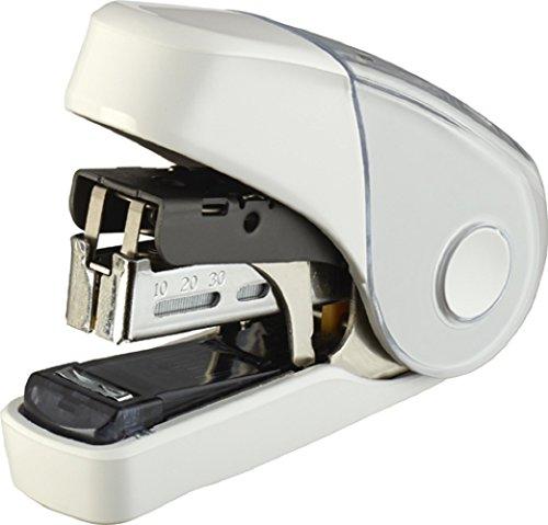 マックス ホッチキス サクリフラット 32枚とじ 予備針100本収納 白 HD-10FL3K/W