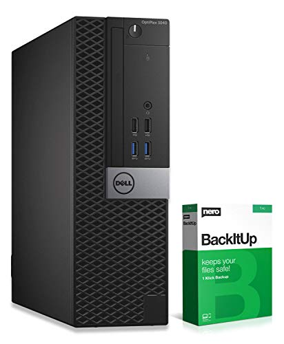 Dell OptiPlex 3040 SFF | PC | Computer | Intel G4400 @ 3,3 GHz | 8GB RAM | 500GB HDD | Windows 10 Home (Zertifiziert und Generalüberholt)