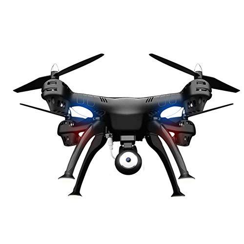 ZZXXMM Drohne Mit, Rc Quadcopter Drone HöHe Halten Stufenlose Geschwindigkeit-Funktion, 1080P Hd-Kamera & 5.8G Dual-GPS-Positionierung Folgen-Weiß