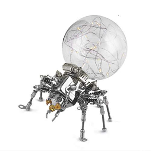 3D-Metal Model Kit Nachtlampje Phantom Spider DIY Vergadering Puzzle Mechanical Model Building Model Kits