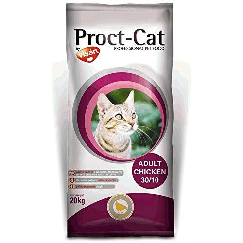 Pienso para Gatos Proct-Cat Adult Chicken 30/10 - Peso - 20kg