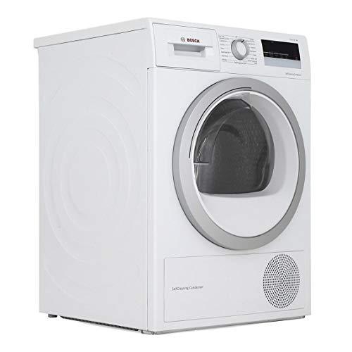Bosch WTW85231GB Serie 4, Freestanding Heat pump tumble dryer, 8 kg - White