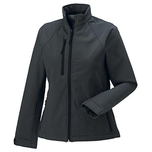 Russell Damen Softshell Jacke, Größe:XS, Farbe:Titanium