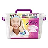 Fashion Angels Neon Tie Dye Hair Accessories Kit(12479) Tie Dye Caddy Set, Multi
