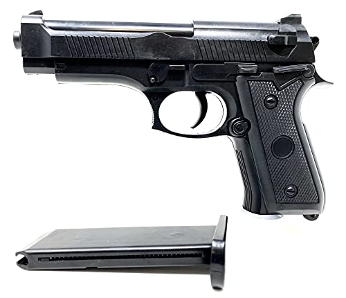 Seilershop Softair Gun Airsoft Federdruck Pistole P38K 19cm 0,4 Joule