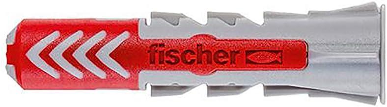Fischer Taco Duopower 6X50 L / (Caja de 100 Uds), 538240, Gris y Rojo