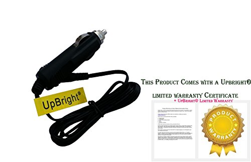 Great Deal! UPBRIGHT New Car DC Adapter for Curtis DVD 8017 DVD8039B DVD8007C DVD8007B Dvd8007 Dvd84...