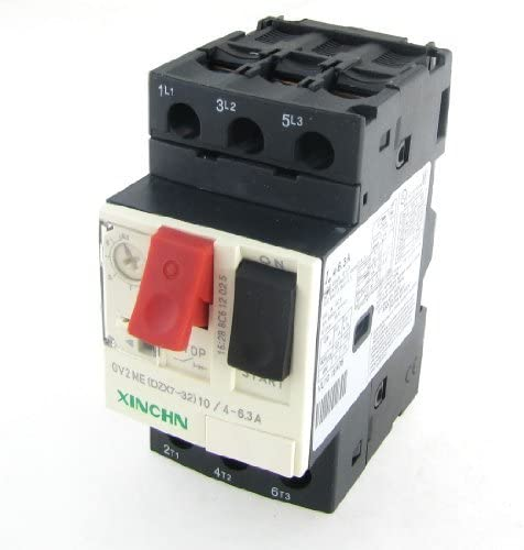 690V 4-6.3A 3P Thermal Max 68% OFF Magnetic Motor online shop Breaker Circuit