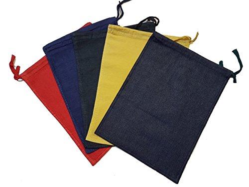 Bolsas de dinero en efectivo, cambios, monedas, bolsas de clasificación de frutas para banca, varios colores, color Assorted