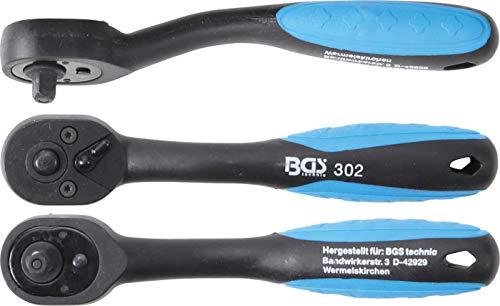BGS 302   Cliquet réversible   avec revêtement plastique   6,3 mm (1/4\
