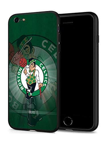 iPhone 8 Case iPhone 7 Case, Basketball Team & Star Fashion Hard Plastic & Silicone Rubber Bumper Protective Case for iPhone 8/ iPhone 7 (4.7-inch Display) (Celtics-7/8)