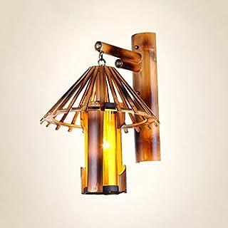 Chinese Retro Nostalgic Bamboo Artistic Creative Wall Lamps