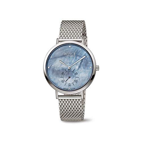 Boccia dames analoog kwarts horloge met roestvrij stalen armband 3316-04