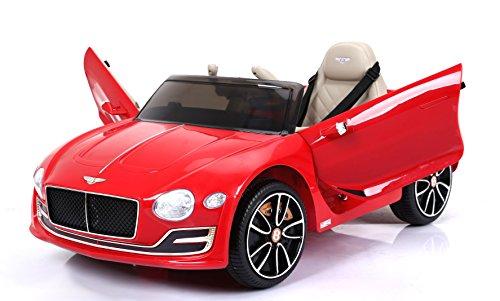 Bentley EXP12, Rojo Pintado, Licencia original, Batería accionada, Puertas de la abertura, Asiento de cuero, Motor 2x, Batería de 12 V, 2.4 Ghz teledirigido, Ruedas suaves de EVA, Arranque sua