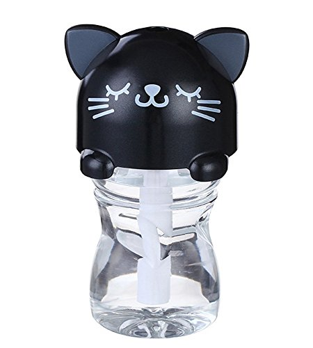 Cheap BestFire LED Night Light Portable Cartoon Bottle Cap Design USB Ultrasonic Humidifier for Offi...
