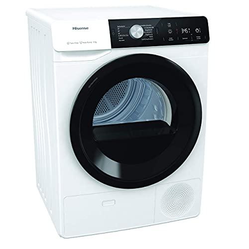 Hisense DHGA901NL Wärmepumpentrockner/ 9kg/ A++/ Knitterschutz/ Startzeitvorwahl/ IonTech, Weiß