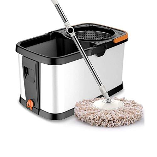 YUTRD ZCJUX 360 ° Easy Clean Floor Mop Bucket Microfibra Vu