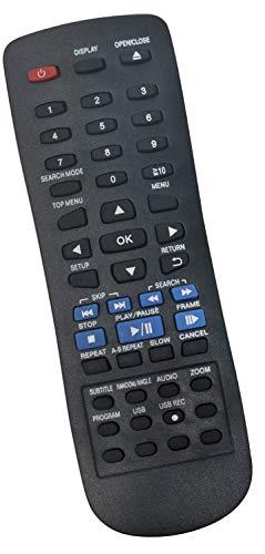 ALLIMITY N2QAYA000015 Fernbedienung Ersetzen für Panasonic DVD Player DVD-S38 DVD-S48 DVD-S58 DVD-S68 DVD-S485 DVD-S500 DVD-S700