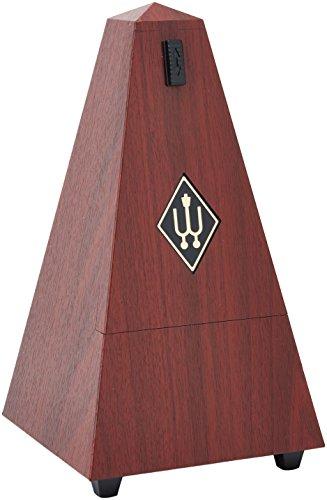 Wittner 903300 Metrónomo Piramidal color caoba veteada