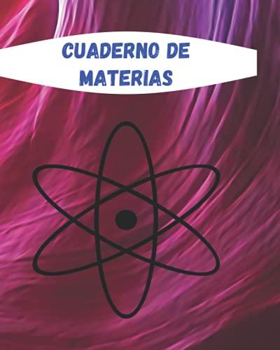 Cuaderno de materias: Tu cuaderno escolar de grandes cuadrados | Gran formato | Cuaderno cuadrado | 100 paginas