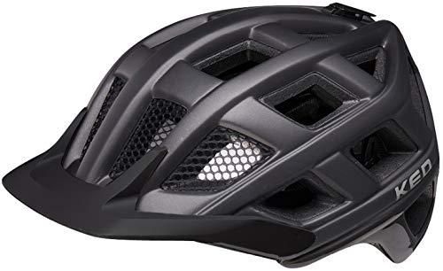 KED Crom Helm Black matt Kopfumfang L | 57-62cm 2021 Fahrradhelm