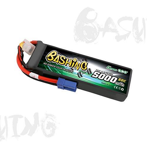 Gens ace 5000mAh 11.1V 3S1P 50C Lipo-Akku Avec EC5-Plug-Bashing-Serie