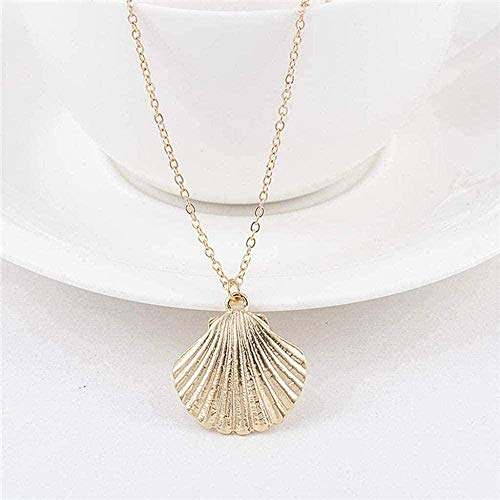 YOUZYHG co.,ltd Necklace for Women Men Alloy Cowrie Shell Necklace for Women Shell Chain Pendant Necklace Summer Jewelry Starfish Necklace