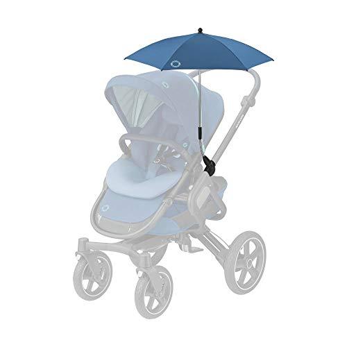 Maxi-Cosi Parasol, stylischer und praktischer Sonnenschirm für alle Maxi-Cosi Kinderwagen und viele mehr, mit UV-Lichtschutz 40+ inkl. Univsersal-Befestigung, essential blue