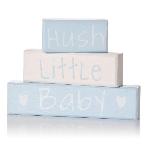 Lindsay Interiors Hush Little Baby Blocs en Bleu Clair # 20517